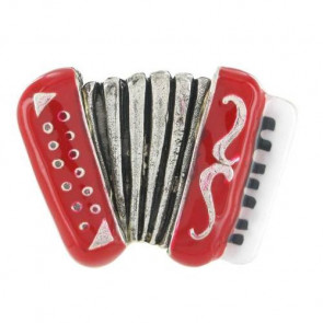 "Ring ""14 Juillet"", red, 14-05479-103"