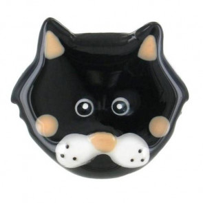 "Ring ""Chat va ?"", black 15-47472-102"