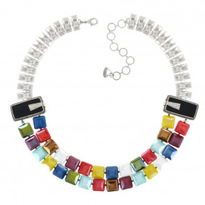 "Collier ""Manhatten"", multi 17-01102-10M"