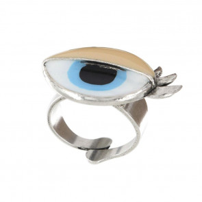 "Ring ""Galipettes"", blau 17-02402-104"
