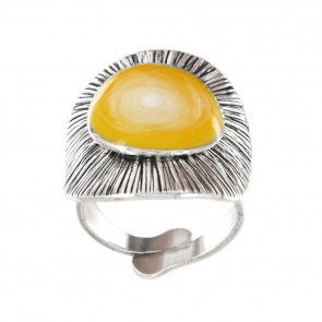 "Ring ""Strada"", yellow, 17-10418-10Y"