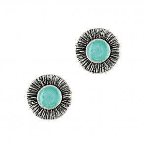 """Ohrstecker """"Strada"""", turquoise, 17-10975-10T"""