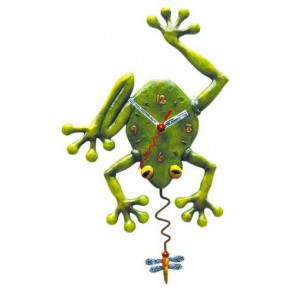 """Wanduhr """"Frog Fly"""""""