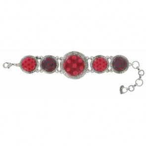 """Armband """"Acolyte"""", red 15-13322-103"""