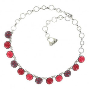 "Collier ""Acolyte"", red 15-13139-103"