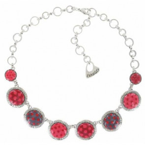 "Collier ""Acolyte"", red 15-13140-103"
