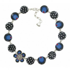 "Collier ""Pervenche"", blue, 15-44114-104"