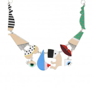 "Collier ""Galipettes"", multi 17-02104-10M"