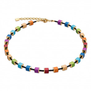 Geo Cube Collier, 4892/10-1500, Multicolor, Limited Edition