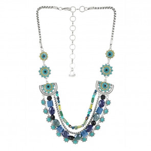 "Collier ""Verone"", blue, 17-14127-104"