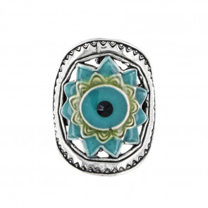 "Ring ""Verone"", blue, 17-14431-104"