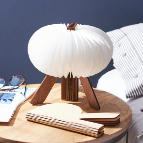 The R Space Lamp, Walnut, G002WT