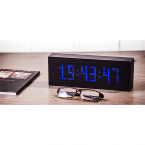 Black Message Click Clock, GK03B10