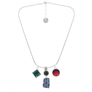 """Collier """"Gombos"""", multi 19-01101-10M"""