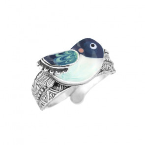 "Ring ""Taraboum"", blue 19-50404-104"