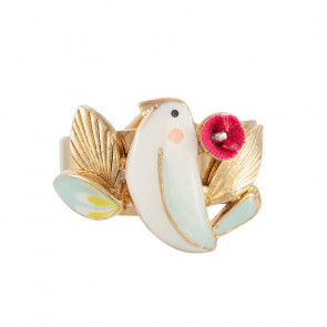 "Ring ""Sur La Bouche"", gold/multi, E20-04406-20M"