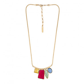 "Collier ""Arc-en-ciel"", gold/multi, E20-14132-20M"