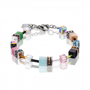 Armband, Geo Cube, 2838/30-1537, multicolor spring Pastell
