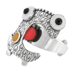 "Ring ""Truc Et Machin"", Red, H20-05410-103"