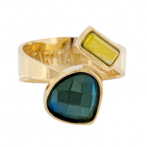"Ring ""Apparemment"", Green, H20-07415-207"