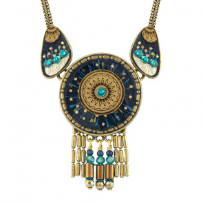 "Collier ""Galaxie"", blue, H20-19140-304"