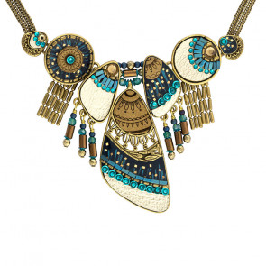 "Collier ""Galaxie"", blue, H20-19141-304"