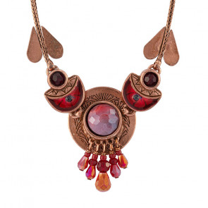 "Collier ""Saigon"", red, H20-21144-403"