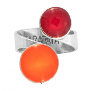 """Ring, """"Couleurs Engagees """", orange, E21-06410-100"""