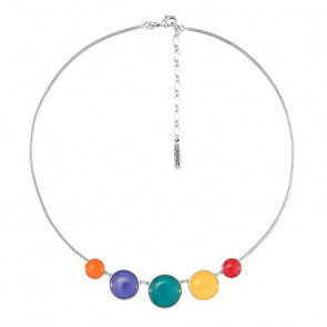 """Collier, """"Couleurs Engagees"""", multi, E21-06111-10M"""