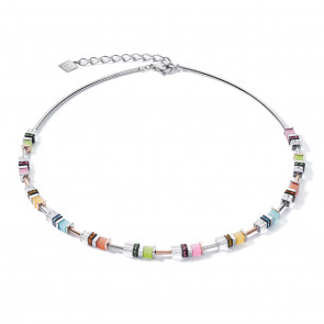 Geo Cube Collier, 5021/10-1522, Multicolor Pastell 1