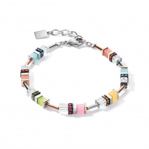 Armband, Geo Cube, 5021/30-1522, Multicolor Pastell 1